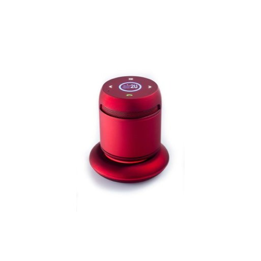 MacBook Lautsprecher Aiptek Music Speaker E15 - Rot