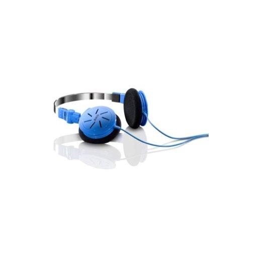 iPhone Kopfhörer AKG K402 - Blau