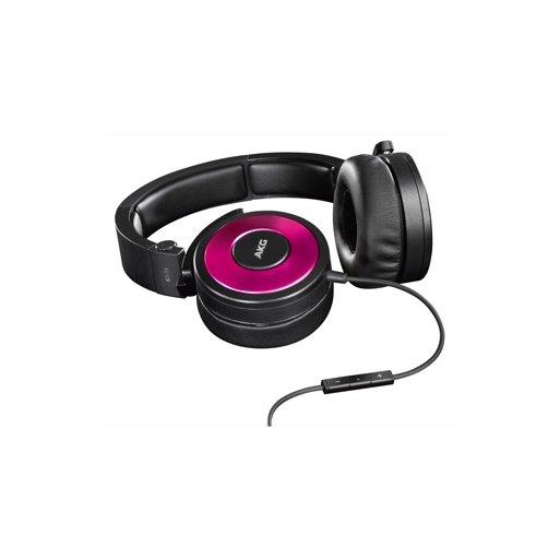 iPad Kopfhörer AKG K619 - Schwarz-Pink