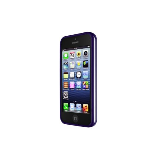 iPhone 5 Handyhülle Artwizz Bumper · Bumper mit Soft Touch für iPhone 5/5S/SE - Dunkelblau