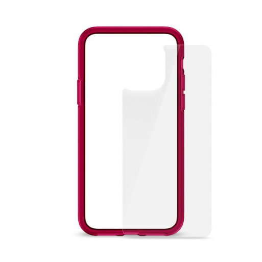iPhone 11 Pro Handyhülle Artwizz Bumper + Glasschutz - Pink