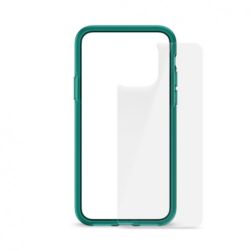 iPhone 11 Pro Handyhülle Artwizz Bumper + Glasschutz - Türkis