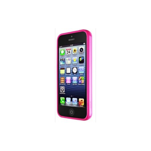 iPhone 5 Handyhülle Artwizz Bumper - Pink