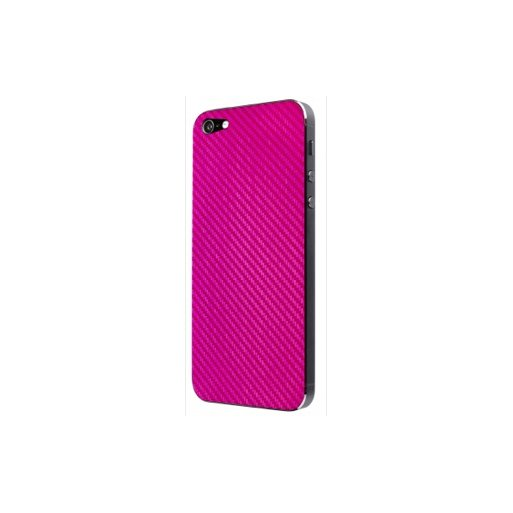 iPhone 5 Handyhülle Artwizz CarbonFilm Back - Pink