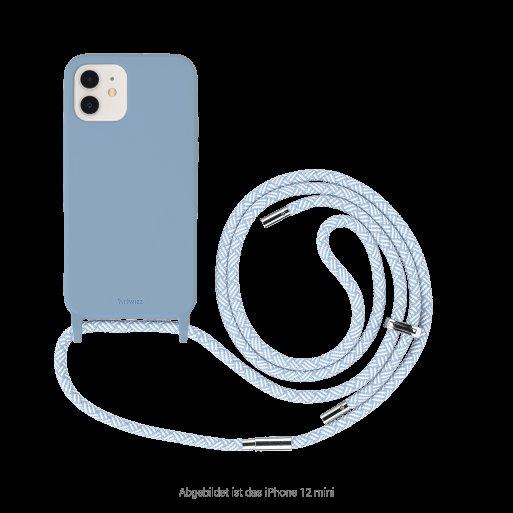 iPhone 13 mini Handyhülle Artwizz HangOn Case - Hellblau