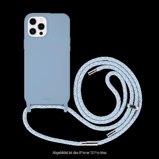 iPhone 13 Pro Max Handyhülle Artwizz HangOn Case - Hellblau