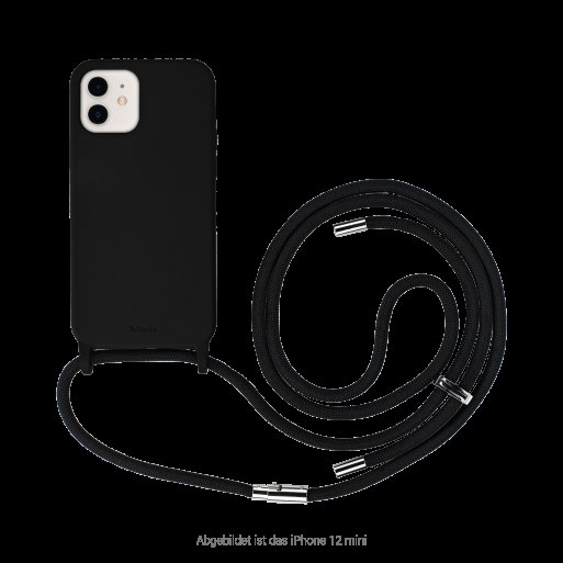 iPhone 13 mini Handyhülle Artwizz HangOn Case - Schwarz