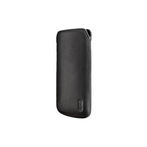 iPhone 5 Handyhülle Artwizz Leather Pouch - Schwarz