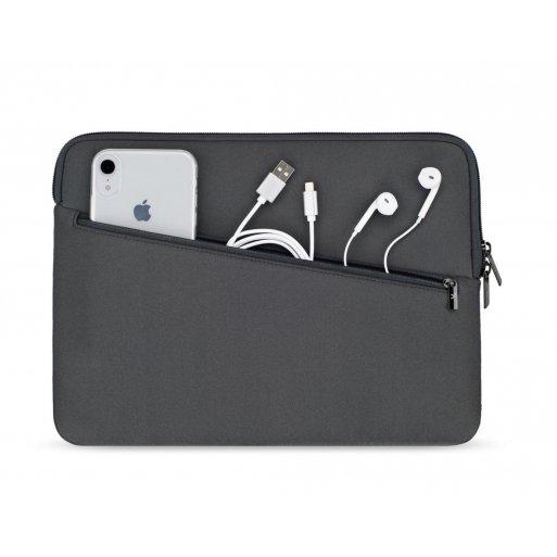 MacBook Tasche Artwizz Neopren Sleeve Pro 13'' - Dunkelgrau