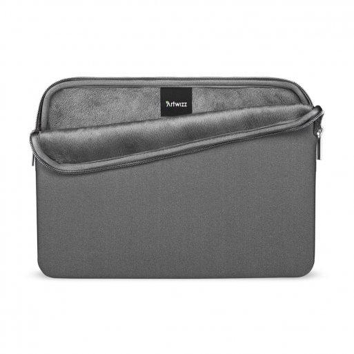 MacBook Tasche Artwizz Neopren Sleeve Pro 16'' - Dunkelgrau