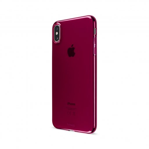 iPhone XS Max Handyhülle Artwizz NoCase - Bordeaux