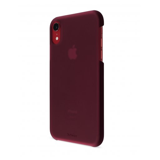 iPhone XR Handyhülle Artwizz Rubber Clip - Bordeaux