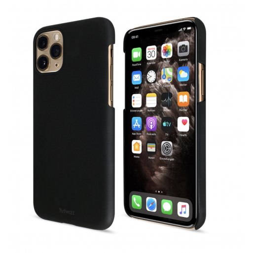 iPhone 11 Pro Handyhülle Artwizz Rubber Clip - Schwarz