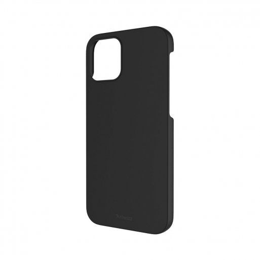 iPhone 12 Handyhülle Artwizz Rubber Clip - Schwarz