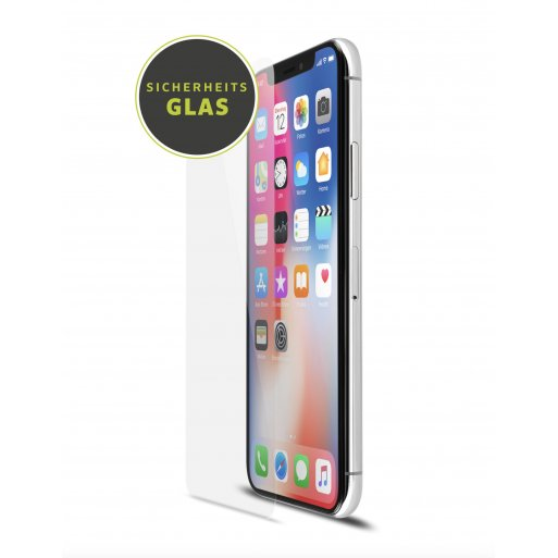 iPhone XS Schutzfolie Artwizz SecondDisplay Bildschirmschutz - Transparent