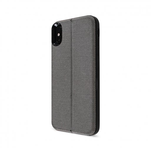 iPhone XS Max Handyhülle Artwizz Secret Case - Grau