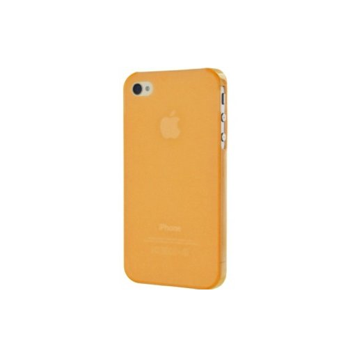 iPhone 5 Handyhülle Artwizz SeeJacket Clip - Orange