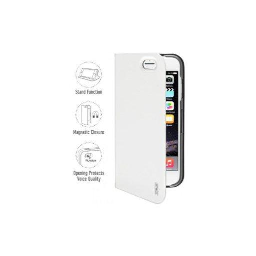 iPhone 6 Handyhülle Artwizz SeeJacket Folio · Hochwertiges Folio mit Standfunktion + Magnetverschluss für iPhone 6/6S (4.7'') - Weiss
