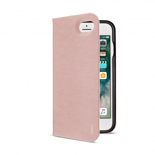 iPhone SE 2 (2020) Handyhülle Artwizz SeeJacket Folio - Rose Gold
