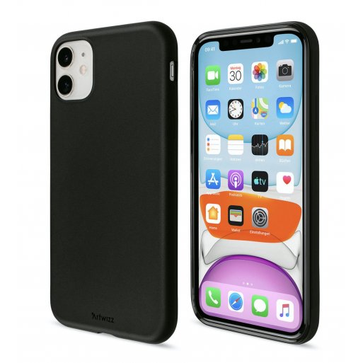 iPhone 11 Handyhülle Artwizz TPU Case - Schwarz
