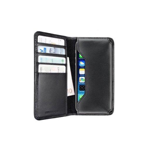 iPhone 6 Handyhülle Artwizz Universal Wallet Grösse L - Schwarz