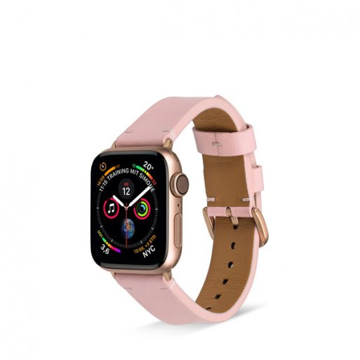 Apple Watch 5 40mm Armband Artwizz WatchBand Leather 38/40mm - Rose Gold