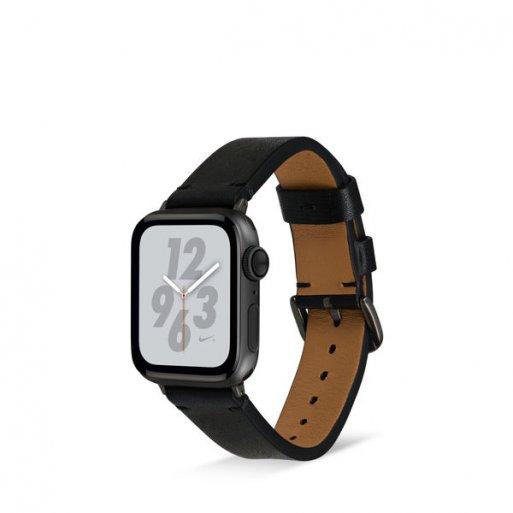 Apple Watch Armband Artwizz WatchBand Leather 42/44mm - Schwarz