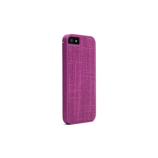 iPhone 5 Handyhülle booq Fibre Snap Case - Purple