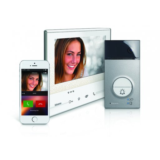 iPhone Gadget Bticino Classe 300 X13E & Linea 3000 Smarte Video-Hausstation SET