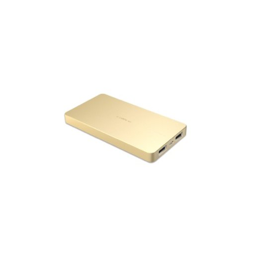 iPhone Powerbank Calibre ULTRA'GO Duo 6'000mAh Powerbank - Gold
