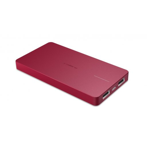 iPhone Powerbank Calibre ULTRA'GO Duo 6'000mAh Powerbank - Rot