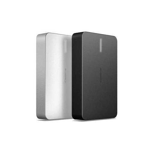 iPhone Powerbank Calibre ULTRA'GO Max 12'000mAh Powerbank - Silber