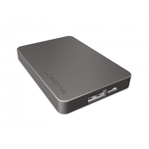 iPhone Powerbank Calibre ULTRA'GO nano 2'500mAh Powerbank - Anthrazit