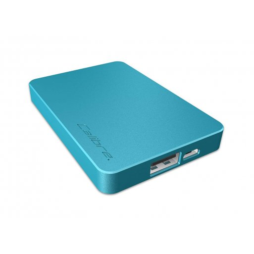 iPhone Powerbank Calibre ULTRA'GO nano 2'500mAh Powerbank - Blau