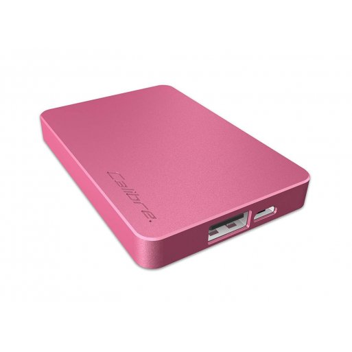 iPhone Powerbank Calibre ULTRA'GO nano 2'500mAh Powerbank - Pink