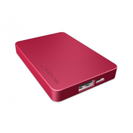 iPhone Powerbank Calibre ULTRA'GO nano 2'500mAh Powerbank - Rot