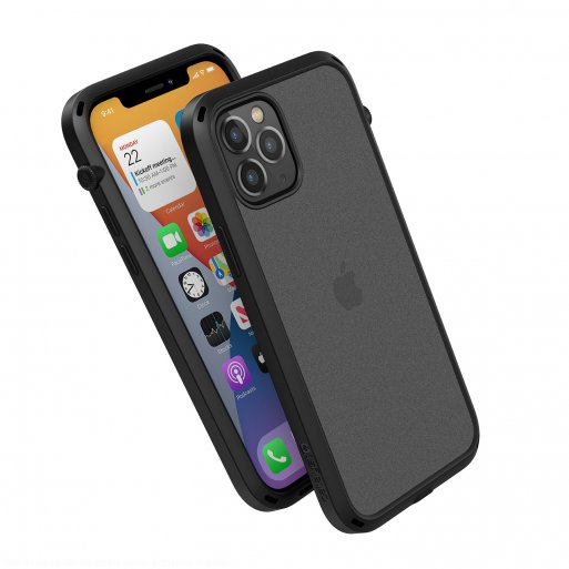 iPhone 12 Handyhülle Catalyst Influence Schock Resistentes Case - Schwarz