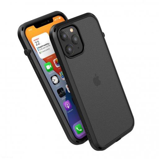 iPhone 12 Pro Max Handyhülle Catalyst Influence Schock Resistentes Case - Schwarz