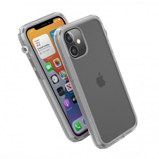 iPhone 12 mini Handyhülle Catalyst Influence Schock Resistentes Case - Transparent
