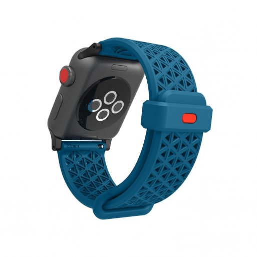 Apple Watch 5 40mm Armband Catalyst Sport Band 38/40mm - Blau-Rot