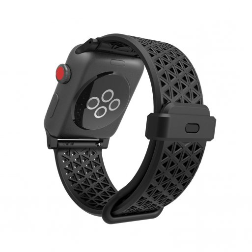 Apple Watch 6 44mm Armband Catalyst Sport Band 42/44mm - Schwarz