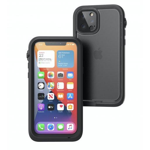iPhone 12 Pro Handyhülle Catalyst Total Protection Case - Schwarz
