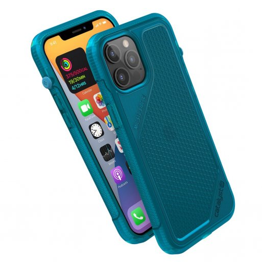 iPhone 12 Pro Max Handyhülle Catalyst Vibe Schock Resistentes Case - Blau