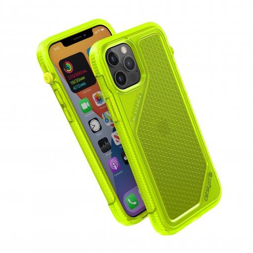 iPhone 12 Pro Handyhülle Catalyst Vibe Schock Resistentes Case - Gelb