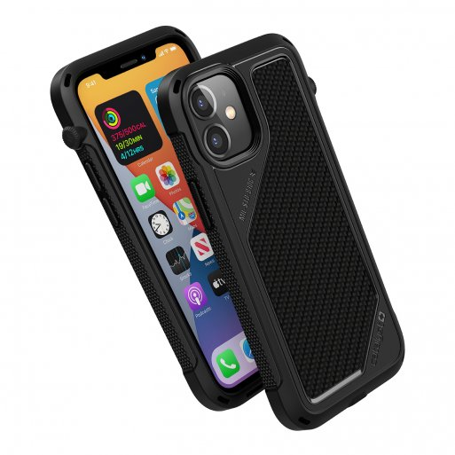 iPhone 12 mini Handyhülle Catalyst Vibe Schock Resistentes Case - Schwarz