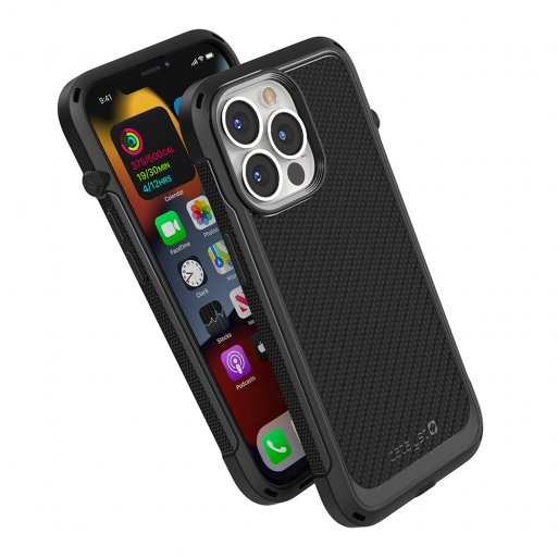 iPhone 13 Pro Max Handyhülle Catalyst Vibe Schock Resistentes Case - Schwarz