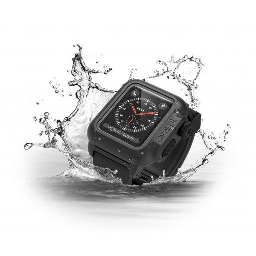 Apple Watch 2 38mm Case Catalyst Wasserdichtes Case 38mm - Schwarz