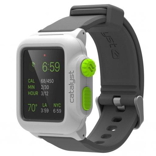 Apple Watch 1 42mm Case Catalyst Wasserdichtes Case 42mm - Weiss-Grün