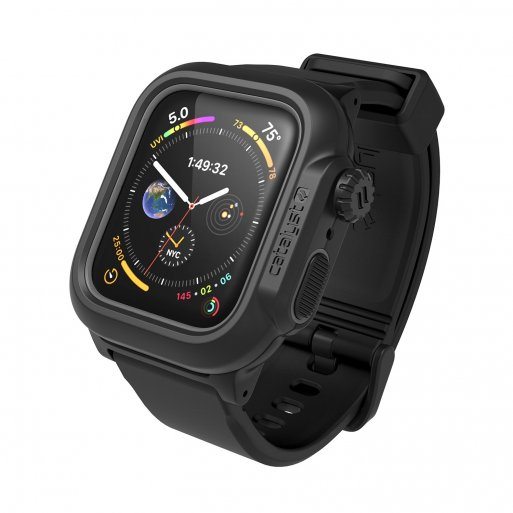 Apple Watch 6 44mm Case Catalyst Wasserdichtes Case 44mm - Schwarz