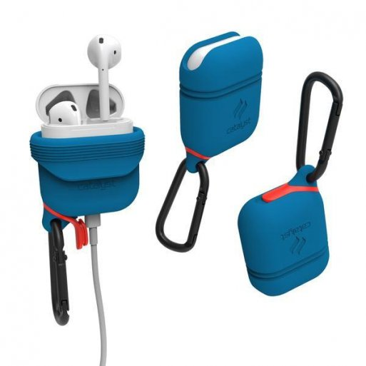 AirPods Case Catalyst Wasserdichtes Case für Apple AirPods - Blau